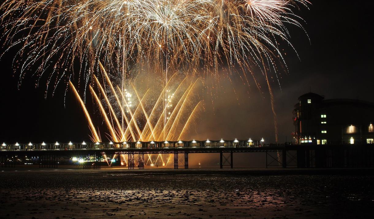 Grand Pier Firework Displays - Visit Weston-super-Mare