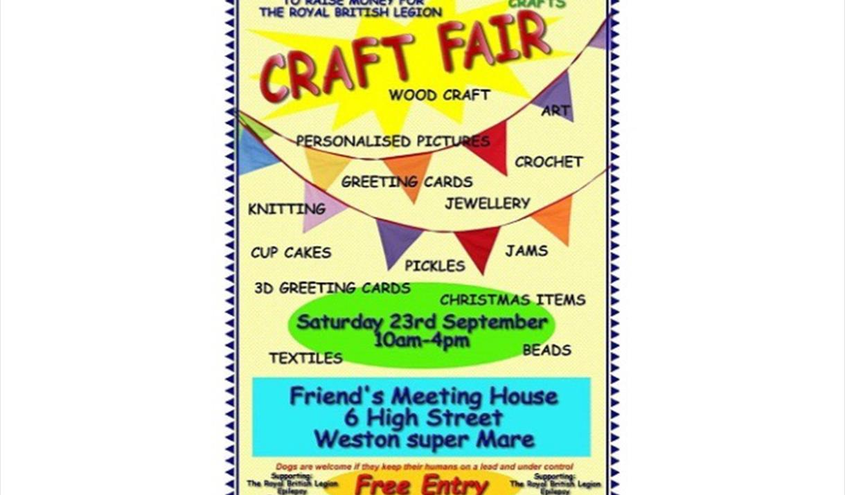 Craft Fair Visit Weston Super Mare