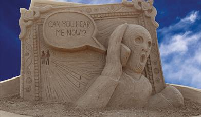 Weston-super-Mare Sand Sculpture Festival