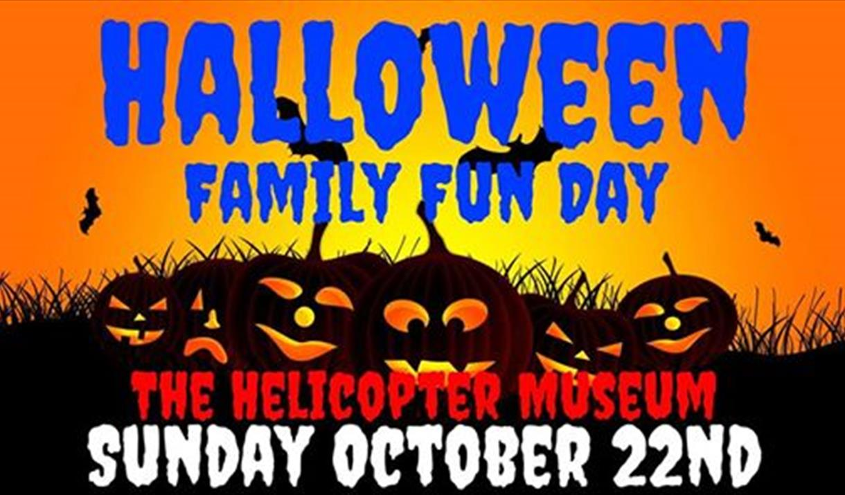 Halloween Family Fun Day at The Helicopter Museum