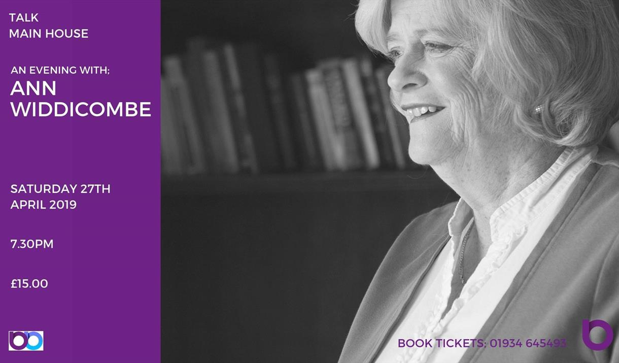 An Evening With: Ann Widdicombe