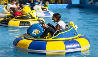 Brean Theme Park water park ride donuts flume boat