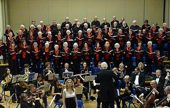 Portisead Choral Society in Gordano School