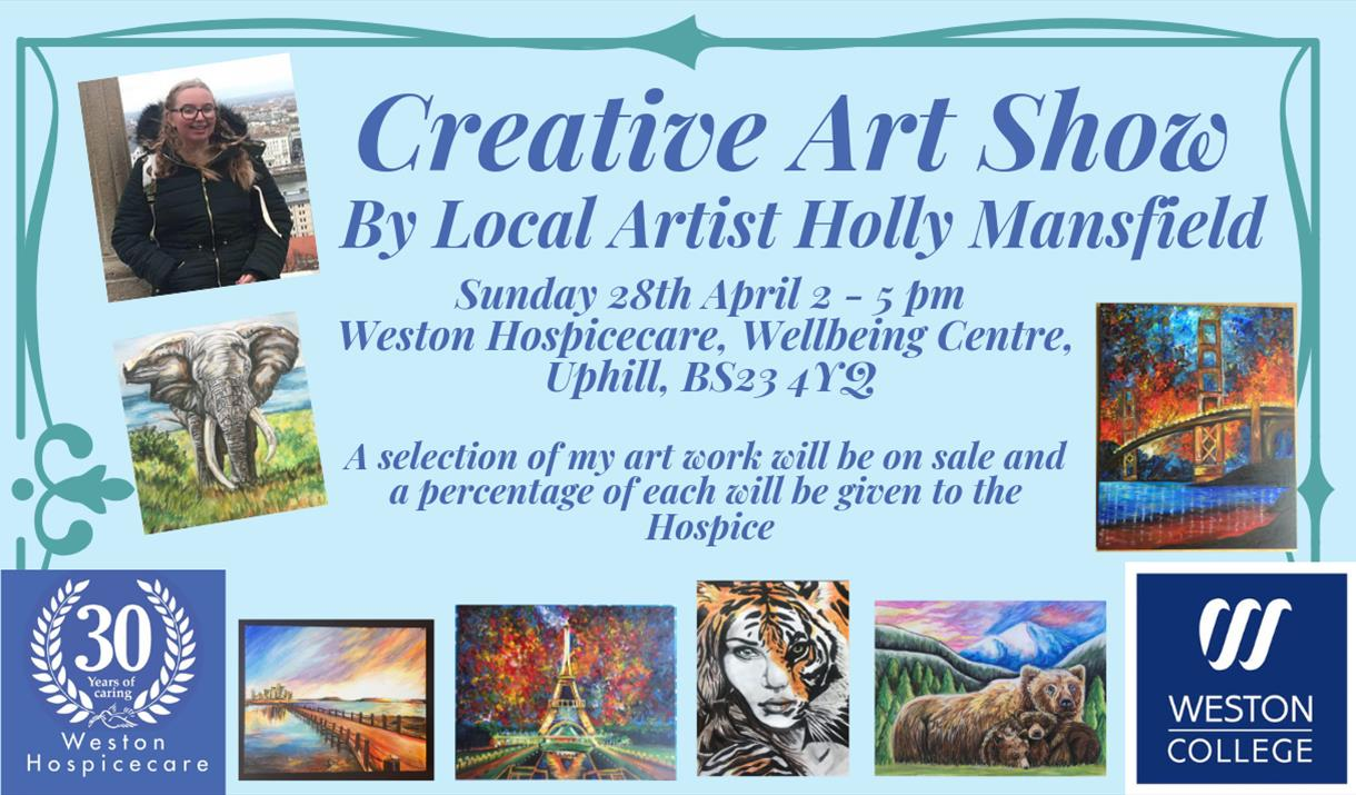 Creative Arts Show by Local Artist Holly Mansfield