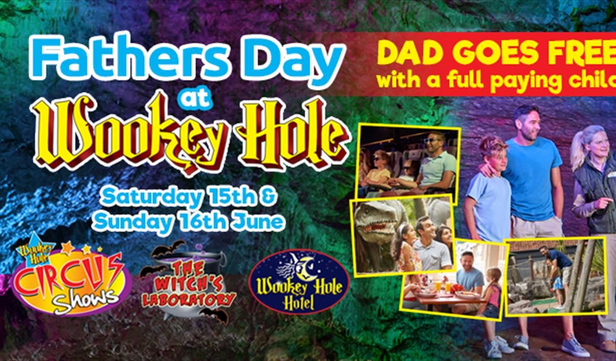 Father's Day Weekend Offer – Dads go FREE