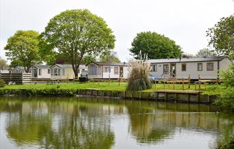 Lakeside Holiday Park Burnham-on-Sea Visit Weston Weston-super-Mare accommodation caravan park caravans self catering