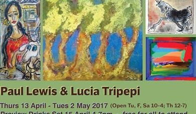 Art Exhibition by Paul Lewis and Lucia Tripepi