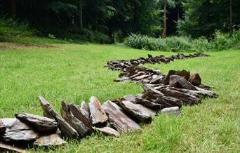 Jackdaw Line, by Richard Long