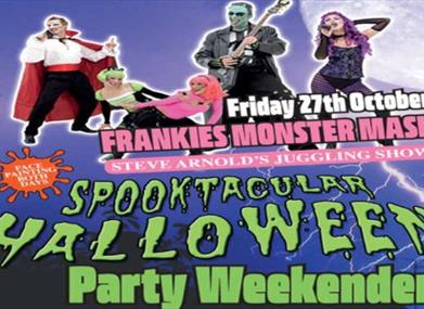 Spooktacular Halloween Party Weekender