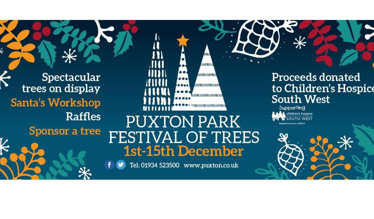 Festival of Trees at Puxton Park