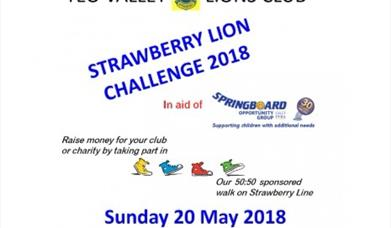 The Strawberry Lion Walk