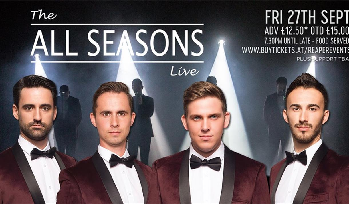 The All Seasons - A Tribute to Frankie Valli & The Four Seasons
