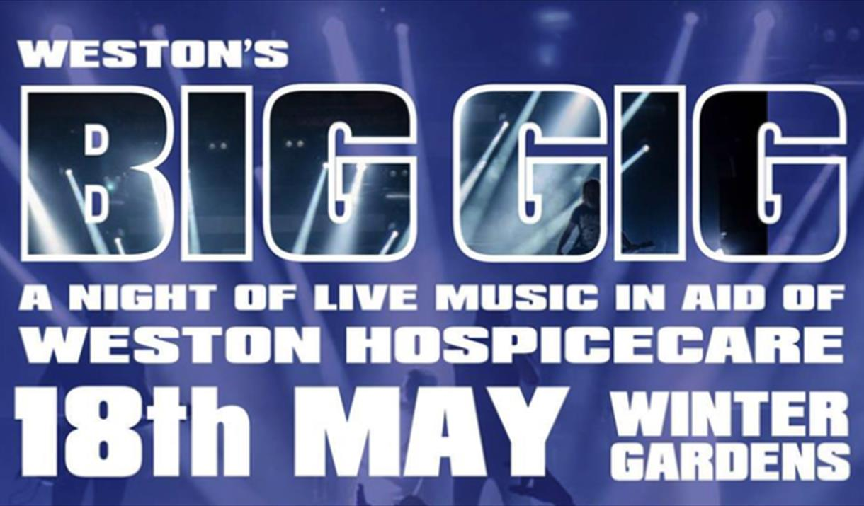 Weston-super-Mare Big Gig Winter Gardens Leylines Harrisen Larner-Main