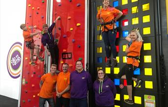 Clip n' Climb Weston-super-Mare indoor climbing centre