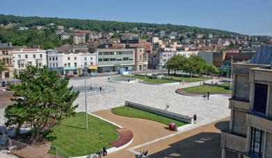 Town Square and Italian Gardens