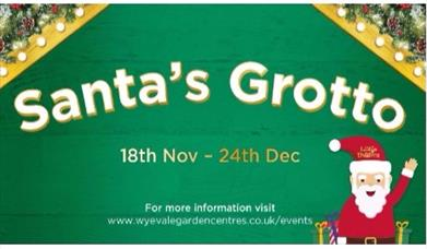 Santa's Grotto at Cadbury Wyevale Garden Centre
