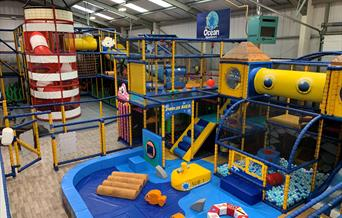 Ocean Adventures Soft Play Cheddar Visit Weston weston-super-mare