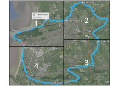 Weston Cycle Route